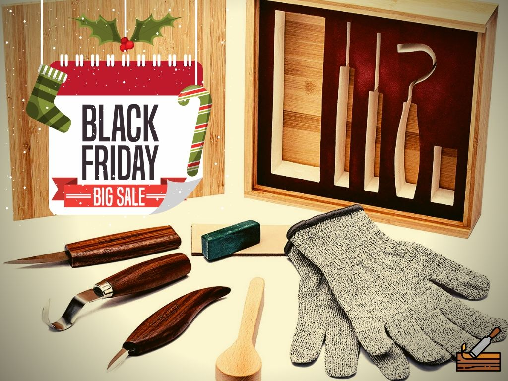 Wood Whittling Kit Black Friday Deal