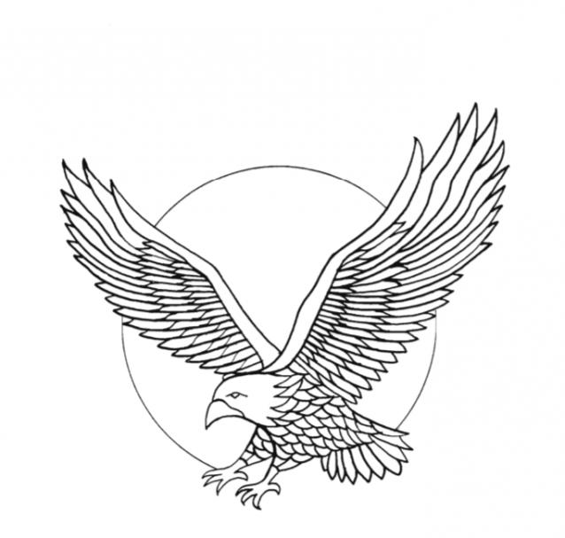 Free Form Pattern Eagle for wood carving #Advanced Beginner Carver