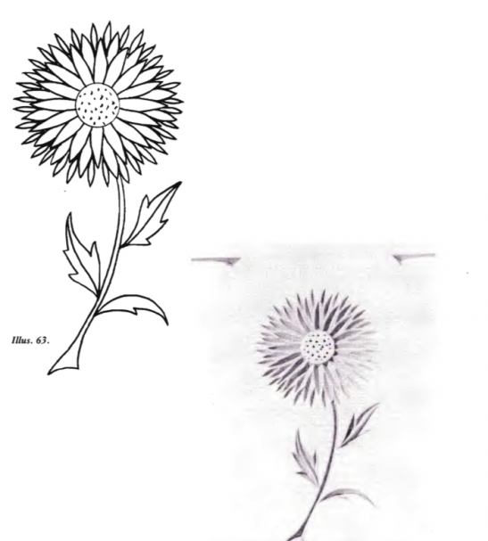 Free Form Patter Flower 4 (free chip carving patterns) #Middle Beginner Carver