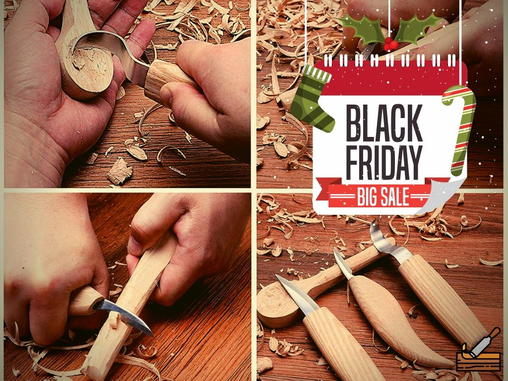 Wood Carving Kit Sale Black Friday
