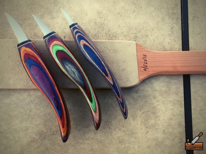 Helvie Whittling Tools Set