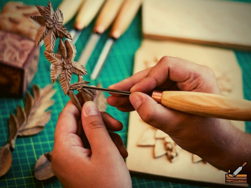 Wood Carving Chisel for Flower Carving