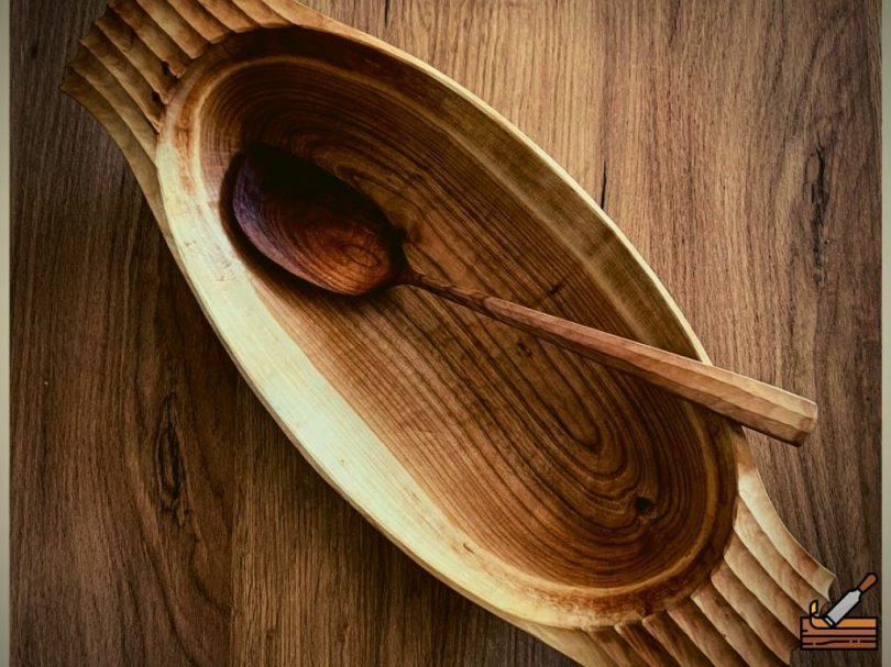 Bowl Carved Out of Wood