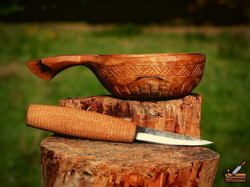 Hand Carved Bowl Out of Wood