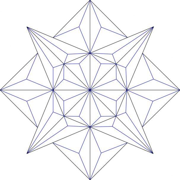 Rosette Chip Carving Pattern 55 #Middle Beginner Carver