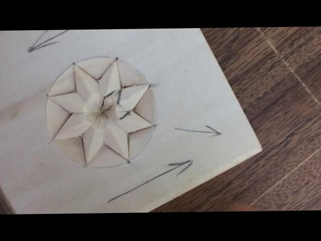 Chip Carving Ornament #Junior carver