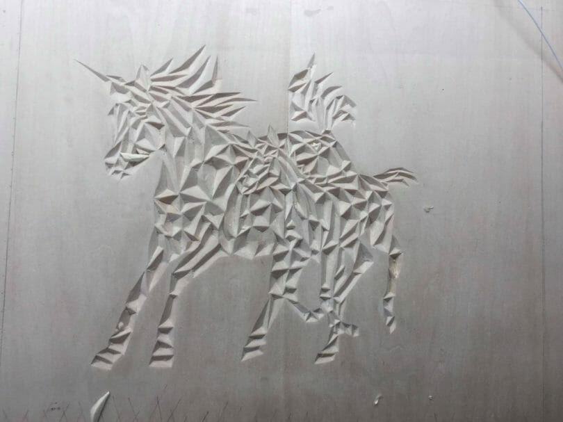 """Unicorn horse chip carving project Author - <a href=""""https://www.facebook.com/mariefrance.trudel"""" rel=""""nofollow"""">Unicorn horse chip carving project</a>"""