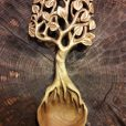 Professional spoon carving