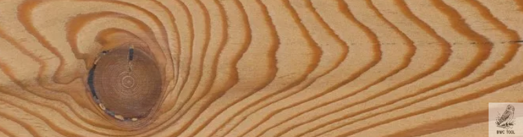 Larch wood for carving