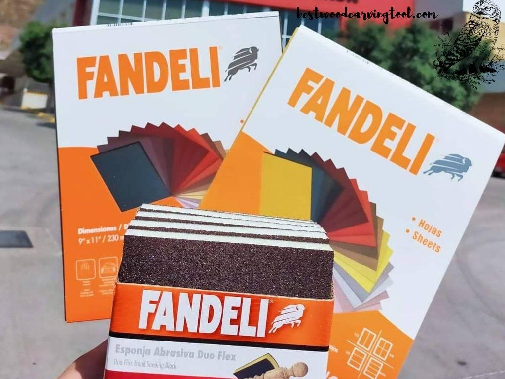 Fandeli 36025 100 Grit Multipurpose Sandpaper Sheets