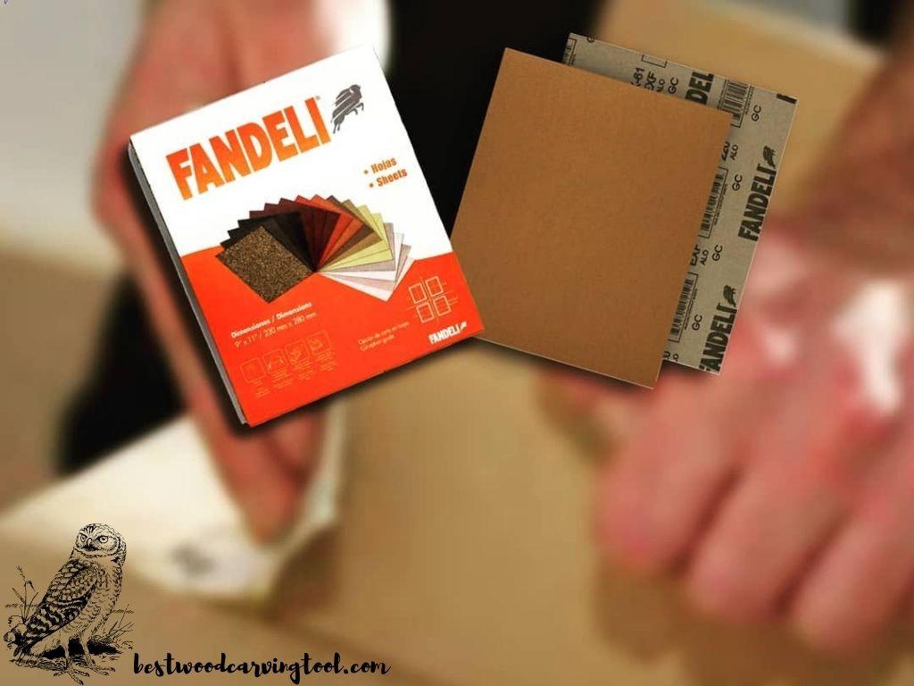 Fandeli 36021 060 Grit Multipurpose Sandpaper Sheets