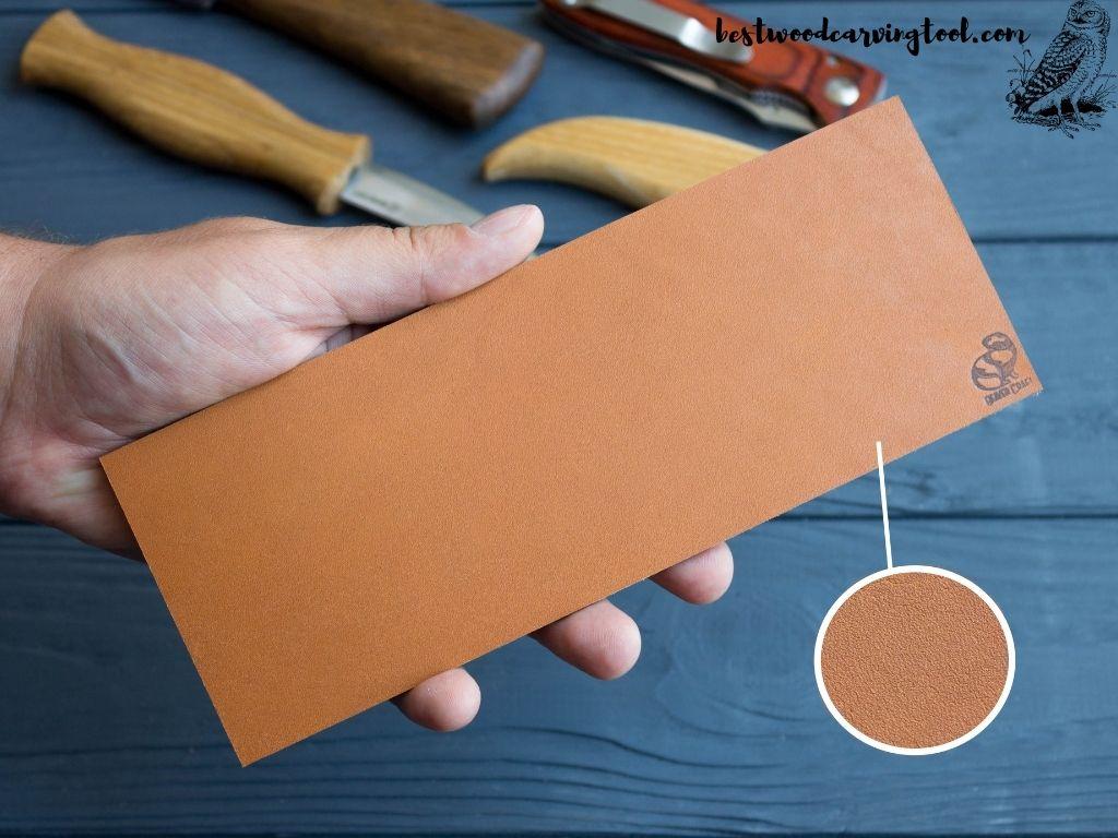 BeaverCraft Stropping Leather