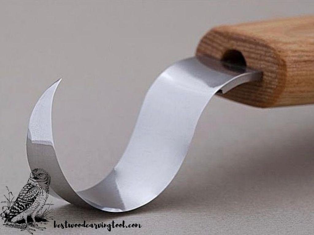 BeaverCraft Wood Carving Hook Knife SK1