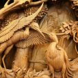 Dongyang wood carving project