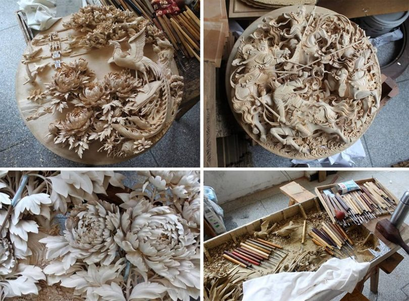 """Сhinese wood carving Author - <a href=""""https://www.thisiscolossal.com/"""" rel=""""nofollow"""">Colossal</a>"""