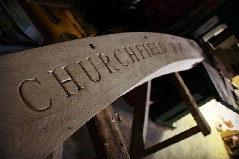 "Carving House Name onto an oak Author - <a href=""https://www.instagram.com/macro_archs/"" rel=""nofollow"">A.S Photography & Entomology</a>"