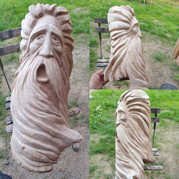 "Odin Wooden Art Author - <a href=""https://www.instagram.com/bifrostwoodcraft/"" rel=""nofollow"">Stefan Andersson</a>"