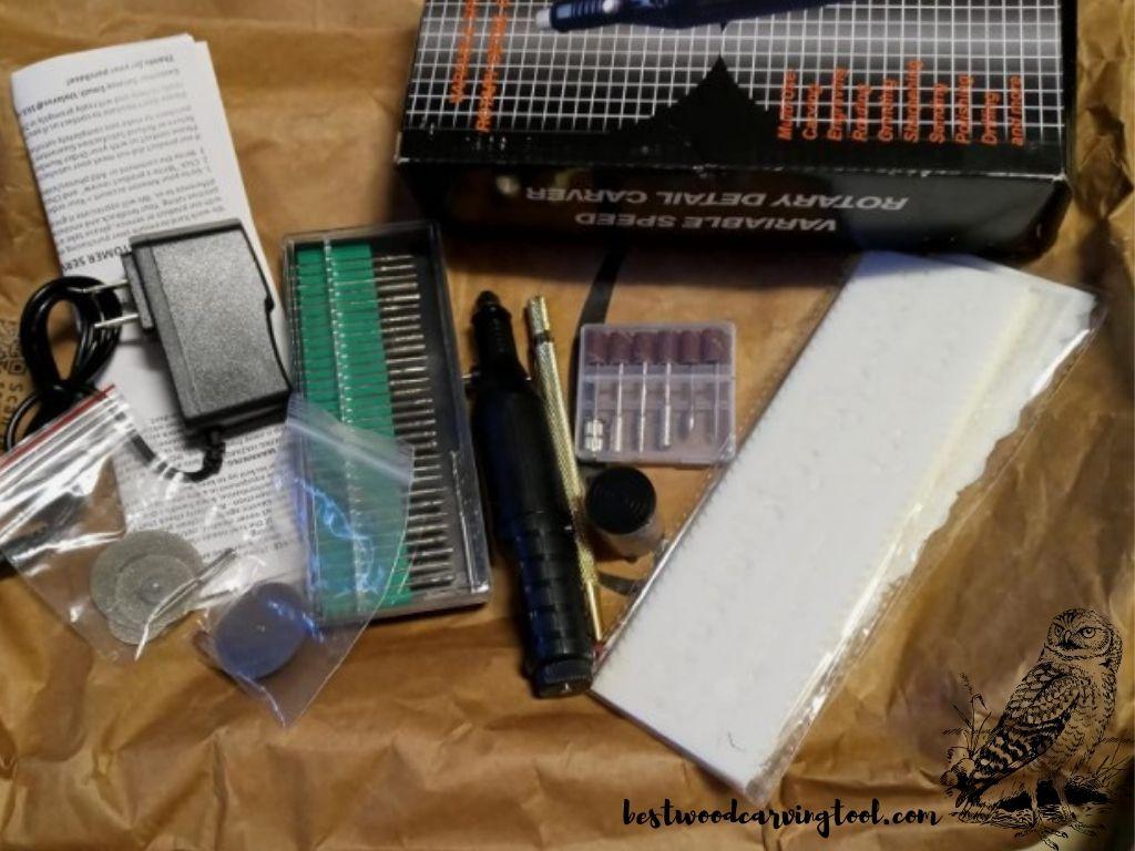 Uolor 108 Pcs Engraving Tool Kit