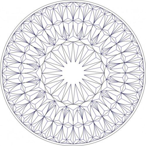 Geometrisches Chip-Schnitzmuster #Middle Beginner Carver