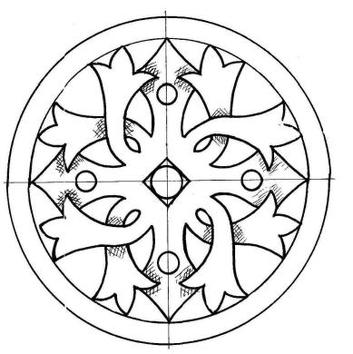 Ornamentales Muster #Middle Beginner Carver