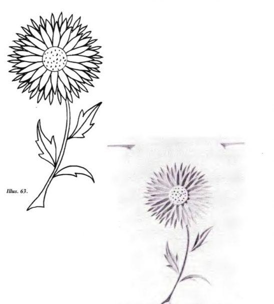 Free Form Patter Flower 4 (darmowe wzory rzeźbienia w żetonach) #Middle Beginner Carver