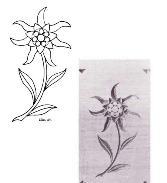 Free Form Pattern Flower 3 (darmowe wzory rzeźbienia w żetonach) #Middle Beginner Carver