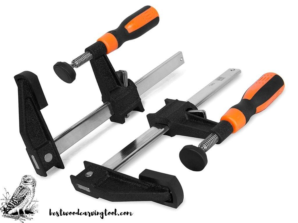 WEN 10206F2 Quick-Adjust 6-Inch Steel Bar Clamps