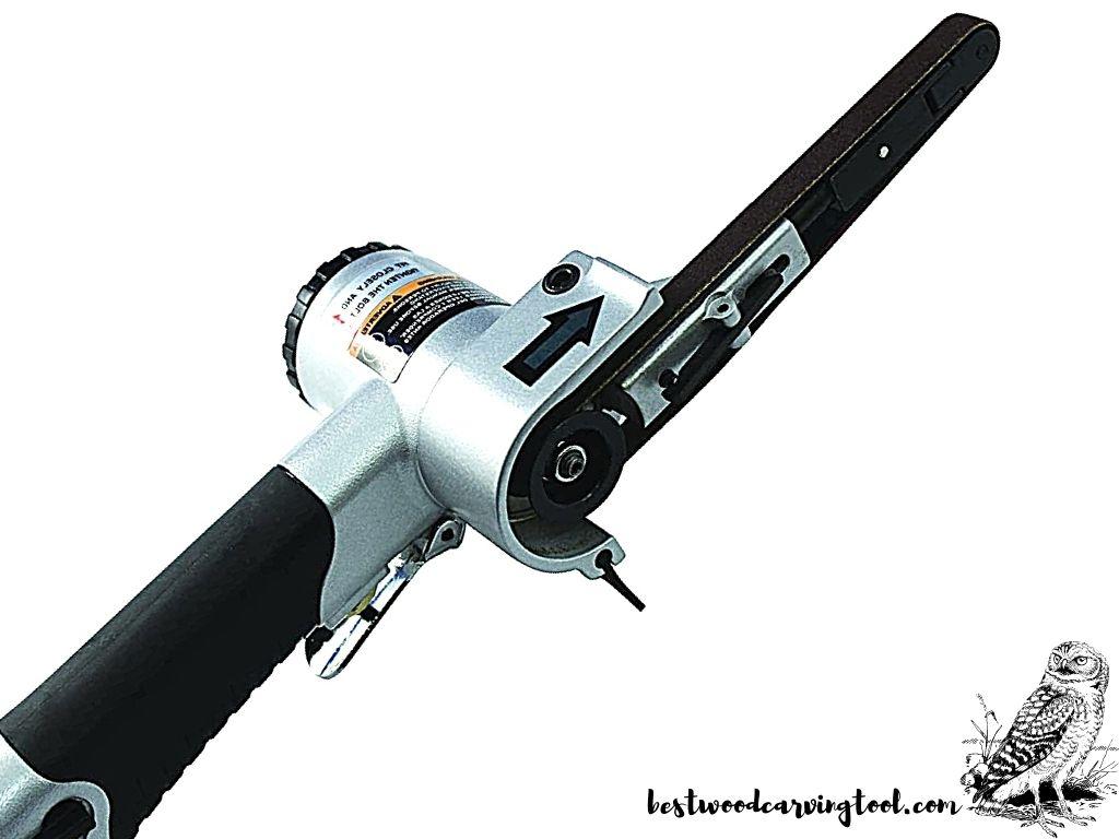 "Astro Tools 3036 Air Belt Sander (3/8"" x 13"")"