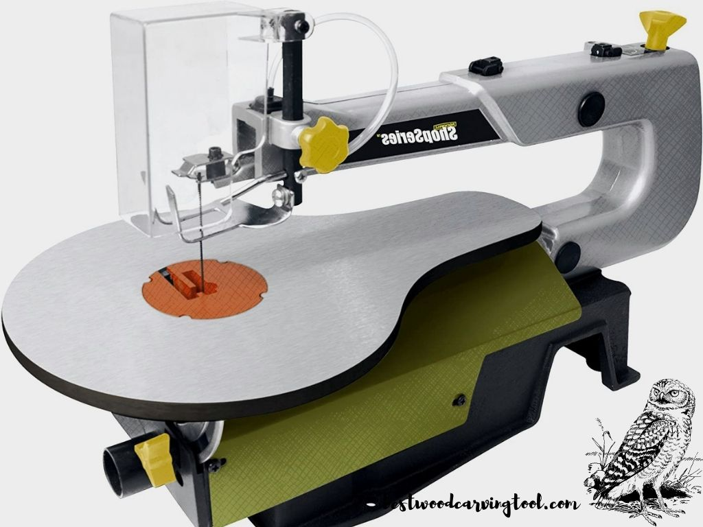"""ShopSeries RK7315 16"""" Scroll Saw with Variable Speed Control"""