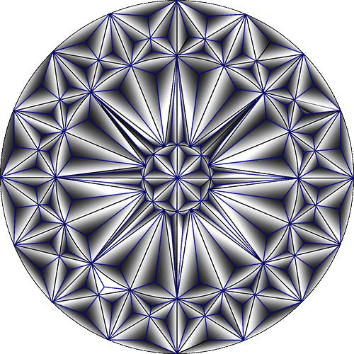 Rosette Chip Carving Pattern 32 #Advanced Beginner Carver