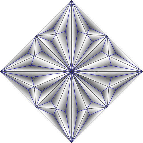 Rosette Chip Carving Pattern 83 #Junior Carver