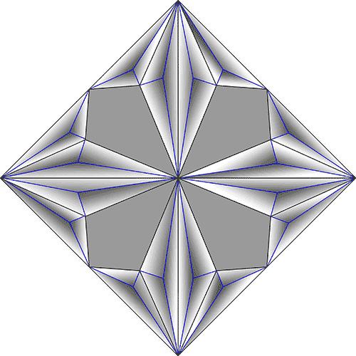 Rosette Chip Carving Pattern 84 #Junior Carver