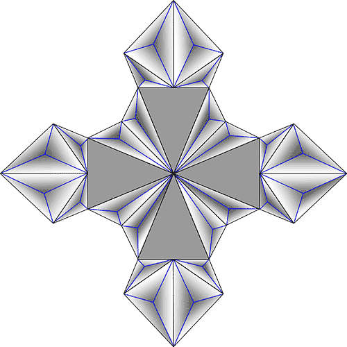 Rosette Chip Carving Pattern 85 #Junior Carver