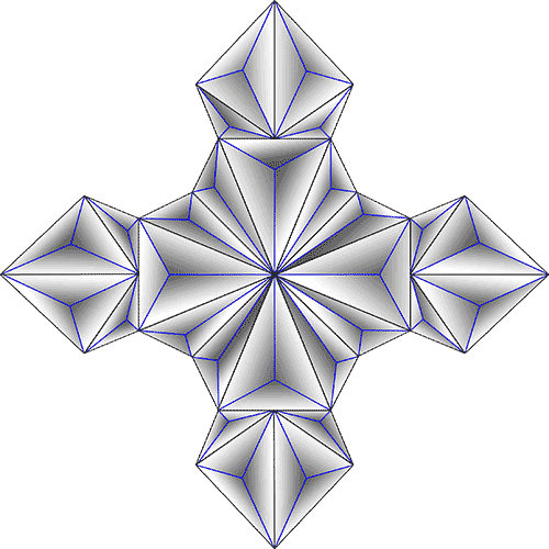 Rosette Chip Carving Pattern 86 #Junior Carver