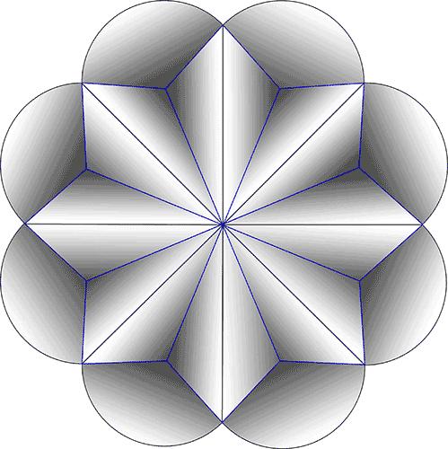 Rosette Chip Carving Pattern 87 #Junior Carver