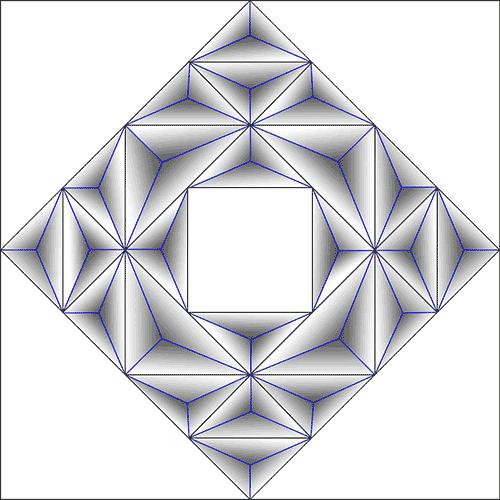Rosette Chip Carving Pattern 88 #Junior Carver