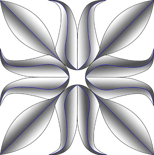 Rosette Chip Carving Pattern 66 #Beginner Carver