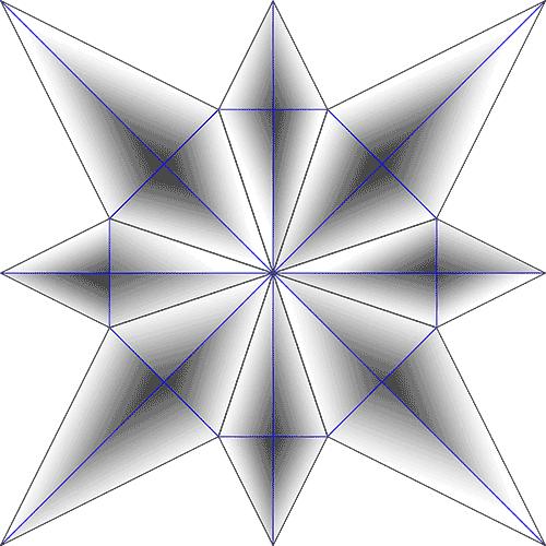 Rosette Chip Carving Pattern 67 #Beginner Carver