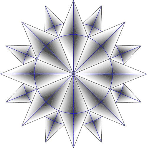 Rosette Chip Carving Pattern 68 #Beginner Carver