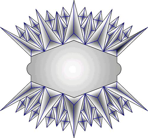 Rosette Chip Carving Pattern 69 #Middle Beginner Carver