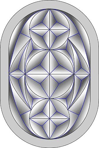 Rosette Chip Carving Pattern 70 #Beginner Carver