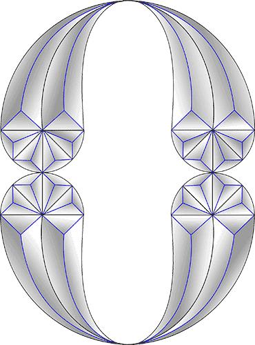Rosette Chip Carving Pattern 73 #Beginner Carver