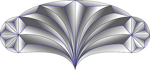 Rosette Chip Carving Pattern 89 #Junior Carver