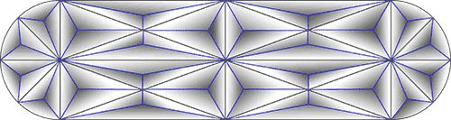 Rosette Chip Carving Pattern 92 #Junior Carver