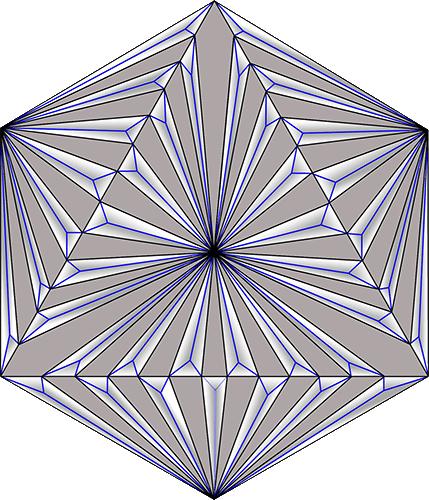 Rosette Chip Carving Pattern 74 #Middle Beginner Carver