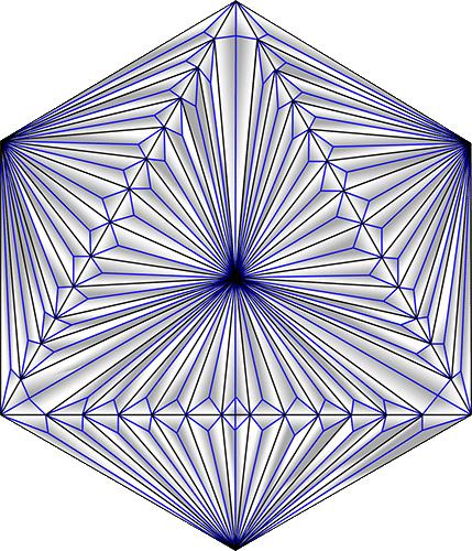 Rosette Chip Carving Pattern 75 #Middle Beginner Carver