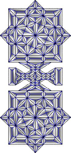 Rosette Chip Carving Pattern 76 #Middle Beginner Carver