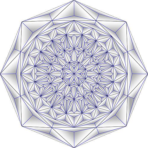 Rosette Chip Carving Pattern 77 #Middle Beginner Carver