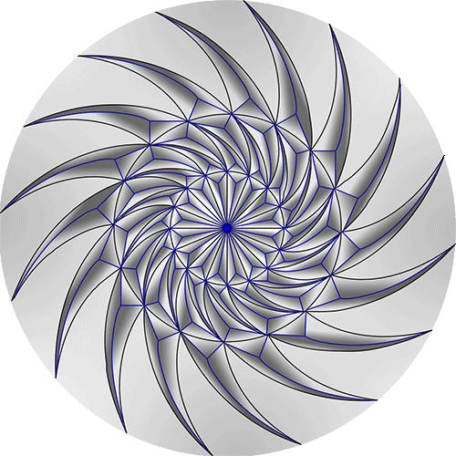 Rosette Chip Carving Pattern 100#Middle Beginner Carver