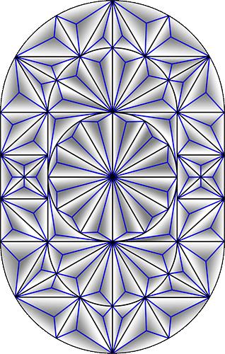 Rosette Chip Carving Pattern 58 #Middle Beginner Carver